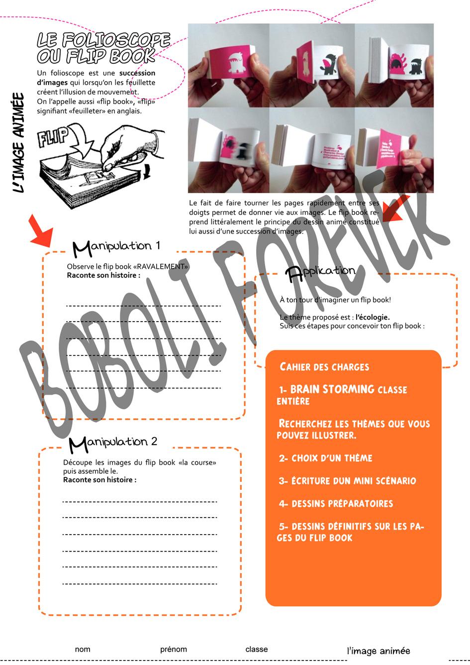 Bien connu La narration par l'image (phase 2 l'image animée) | Boboli Forever 2 JM22